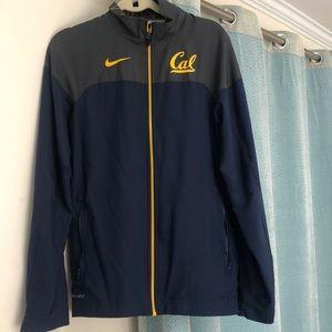 Berkeley Nike Dry Fit Zip Up Jacket